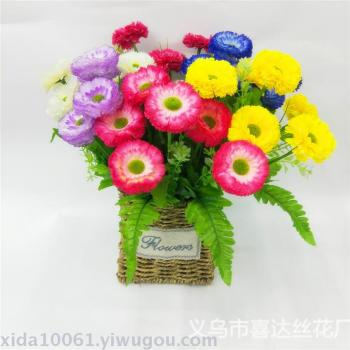 Simulation Flower potted Bonsai ornaments Accessories jewelry casing thousand layers lilac