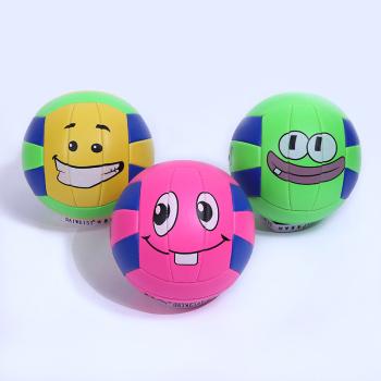 新款笑脸排球爆率高脸黑表情包体育沙膛球户外v笑脸排球表情图片