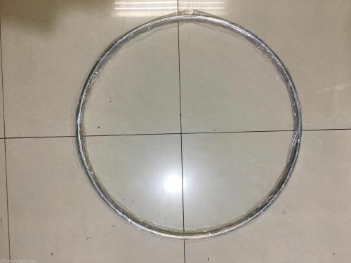 stainless steel hula hoop 75cm smooth rims adult waist hula Hoop