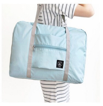 Travel waterproof foldable travelling bag shopping single shoulder bag bag bag