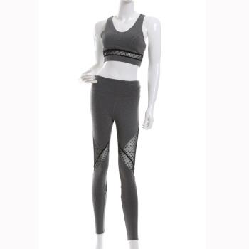 Xin Yi knitting 2017 new sportswear fashion breathable yoga set