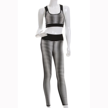 Xin Yi knitting 2017 new sportswear fashion Yoga set