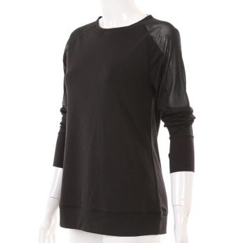 Xin Yi knitting 2017 new fashion sportswear yoga wear long sleeve