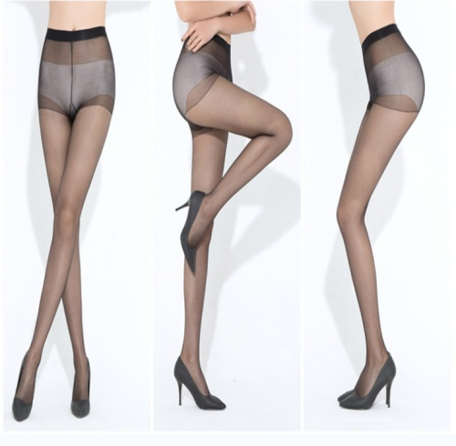Summer simple packaging super thin pantyhose pantyhose tights lady transparent core silk stockings hook