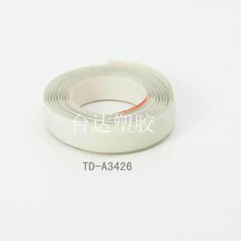 Supply plastic PVC strip, PVC flat tape, color transparent plastic flat tape