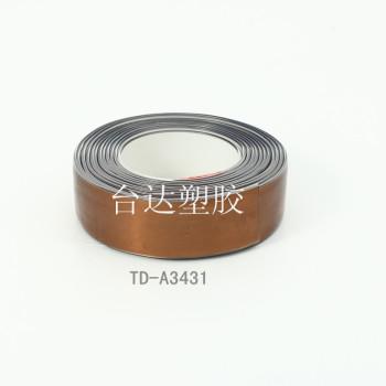 PVC plastic Belt Double color candy color couple belt no metal allergy