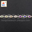 UV Plating ABS wire drill Bead Clothing Jewelry