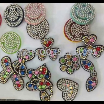 Hot-Drilling hot-drawing mesh of diamond-coated cloth hair Clip decoration Accessories Clothing Accessory