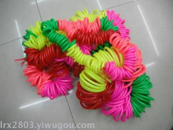 Hula hoop with large ring of small rings
