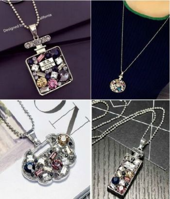 Autumn and winter style hundred water aquarius decorative necklace long sweater chain pendant accessories