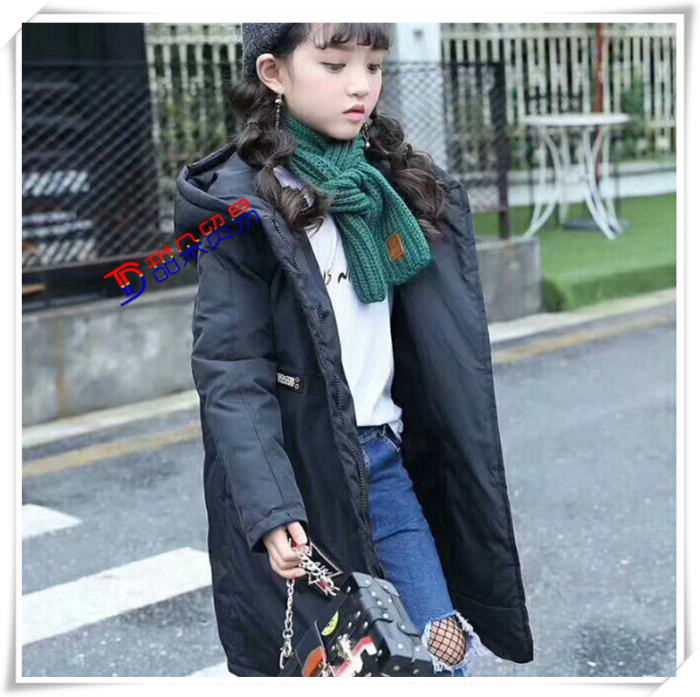 5a0737995 new style 4f971 e00a2 plush children long down jacket four layer ...