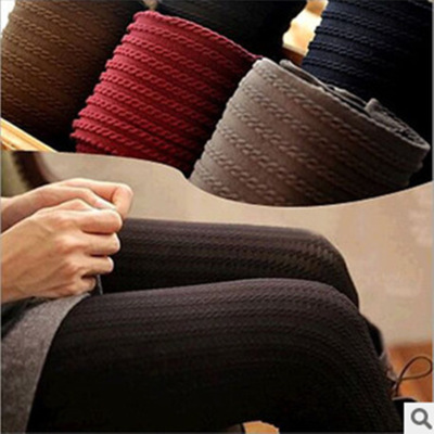 Spring New Day series of fine twist spike vertical stripe socks female fine thread pantyhose