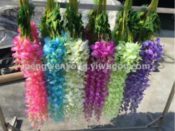 Long bean curd flower wedding Props