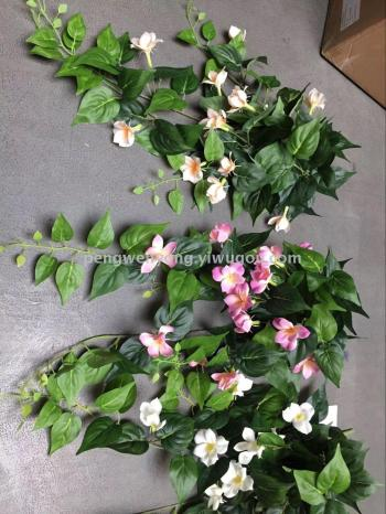 New flower rattan wedding props Plant wall auxiliary material simulation flower