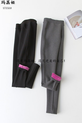 97056# Pure cotton compound Leonurus aromatherapy Winter thickening underwear fake pocket