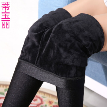 Manufacturers selling cashmere trousers with thickened gloss warm Leggings