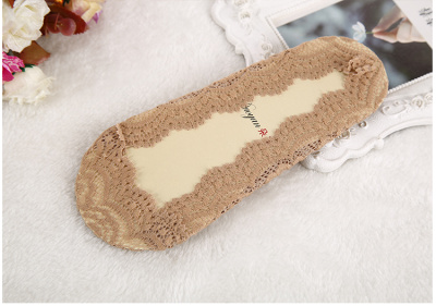 Encryption lace invisible socks ultra-thin polyester cotton boat socks