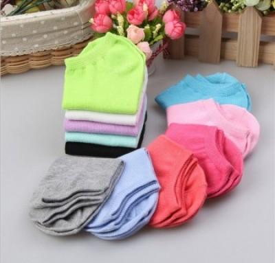 Women socks Pure Cotton socks Korean version candy color boat socks shallow mouth stealth socks