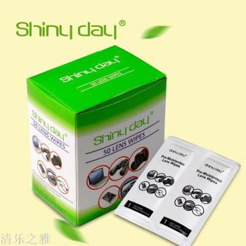 清樂之雅shiny day 單片眼鏡濕巾