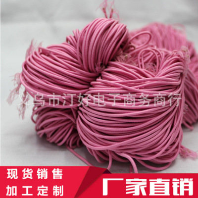 Headdress special 0.2cm round elastic rope scrunchies Jewelry Accessories Factory Direct OEM