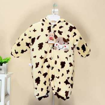 Infant winter jacket cotton piece suits children winter clothes out winter thickening winter clothes