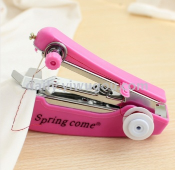 Mini manual sewing machine pocket multifunctional non electric hand-held small miniature portable sewing machine