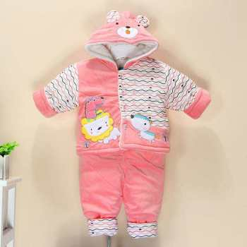 New baby suit autumn and winter children's clothing cotton padded cotton out of service