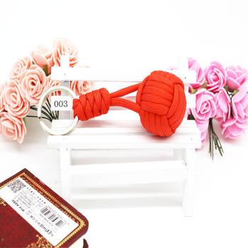 Umbrella rope 4 big knit key chain outdoor sports key chain bag wallet accessories pendants