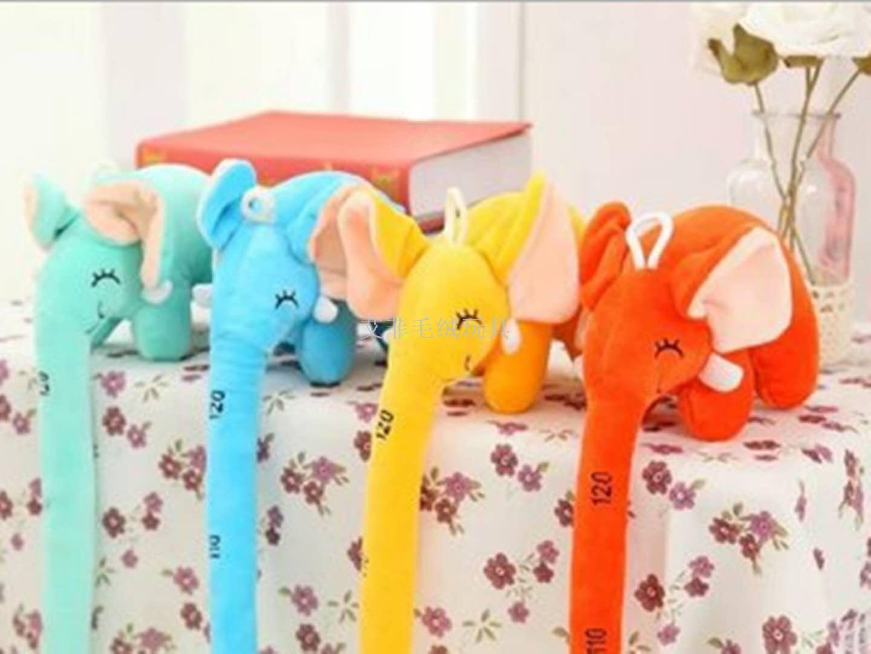 长鼻子大象公仔儿童量身高创意尺抱枕毛绒玩具