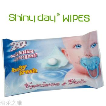 20 bags of baby wipes