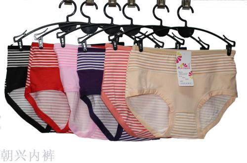 Girls low waist briefs milk silk bar Korean version
