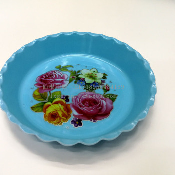 Fruit plate plastic snack plate printing fruit plate dried fruit candy plate