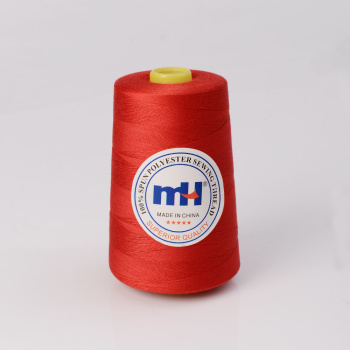 100% Spun Polyester Sewing Thread 20s/2 30s/3 40s/2