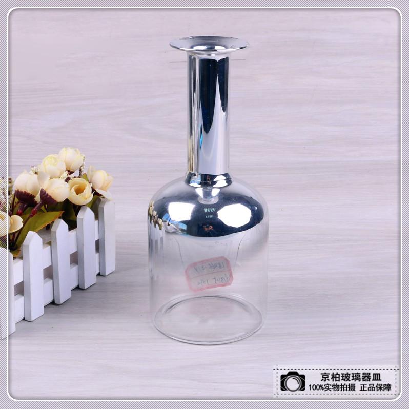 渐变色简约现代欧式花瓶玻璃桌面花瓶摆件插花装饰花器