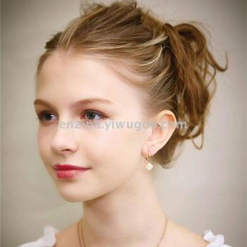 Tzu Na 2017 new headdress hair accessories hair extensions hair extensions face