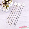 Europe and the United States big titanium stainless steel necklaces chain fashion accessories