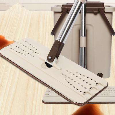 京士达刮刮乐免手洗拖把家用懒人旋转木地板平板拖把拖布拖地神器