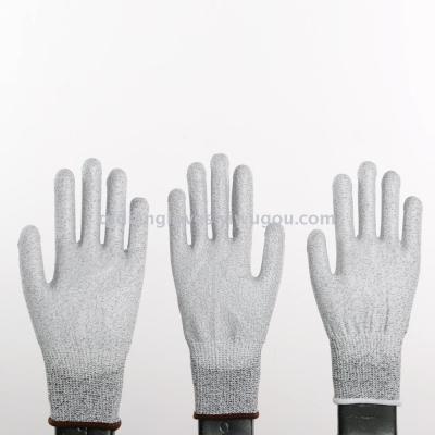 Cut-proof manufacturers to produce five anti-cutting cut anti-cutting anti-cut steel wire garden gloves