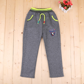 2017 new autumn and winter children's casual pants fashion warm pants trousers