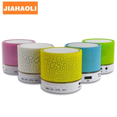 JHL-A9 Bluetooth speaker stripe burst Bluetooth stereo mini wireless card lights