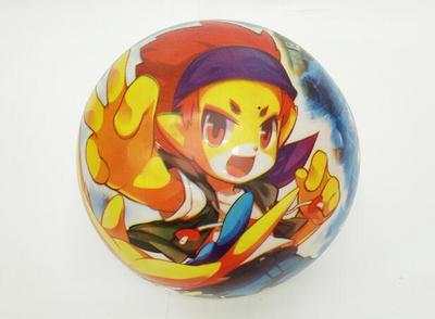 Factory outlets 9-inch cartoon full-printed children's inflatable toys thickened PVC ball series