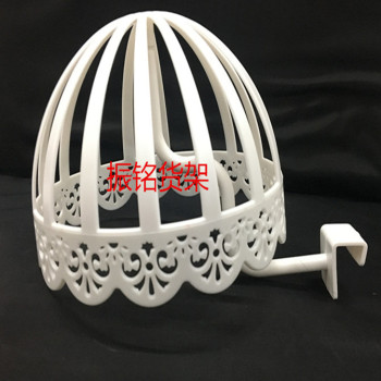 Factory direct tube hat rack white plastic hat rack independent hat rack
