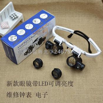 New glasses with binocular maintenance watch jewelry appraisal magnifying glass 9892H-1