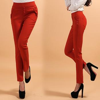Color Roman cotton leggings