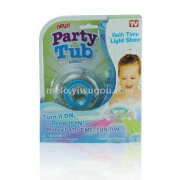 Children's bathtub light bulb, bath toy lights, party in the tub, colorful light