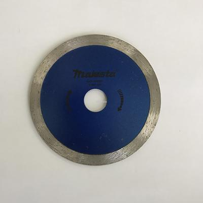 125mm 5'' Majesta diamond blade for wet and dry cutting/turbo blade/segmented rim blade/widen blade/ultra-thin blade