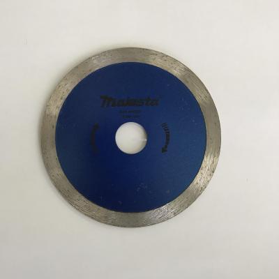 125mm 5'' Majesta diamond blade for wet and dry cutting/turbo blade/segmented rim blade/widen blade/ultra-thin blade