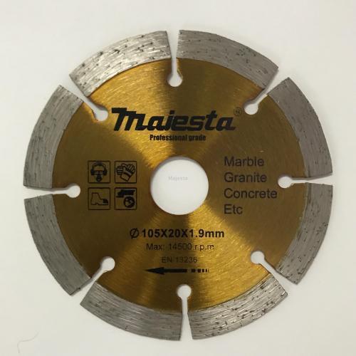 105 4inch diamond blade for wet and dry cutting/turbo blade/segmented rim blade/widen blade/ultra-thin blade