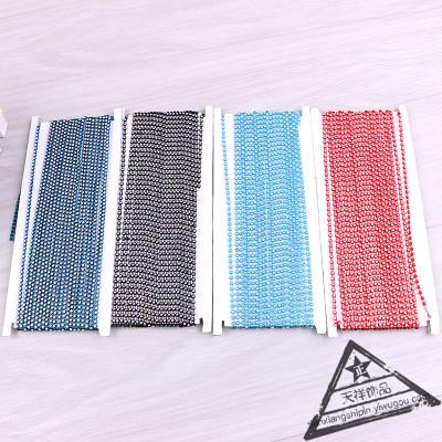 DIY handicraft accessories sparkle net drill string chain claw chain bracelet necklace bracelet material