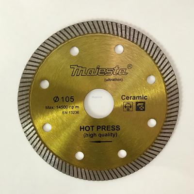 105 4inch diamond blade for wet and dry cutting/turbo blade/segmented rim blade/widen blade/ultra-thin blade